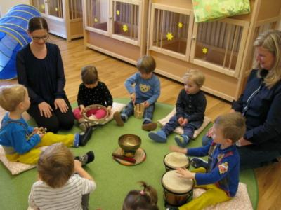 Beim Musizieren